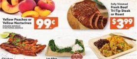 Vallarta Weekly Ad September 15 - September 21, 2021. Yellow Peaches or Nectarines on Sale!