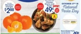 Price Rite Weekly Circular October 15 - October 21, 2021. Chicken Drums and Thighs on Sale!