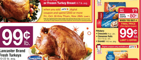 Acme Weekly Ad November 13 - November 19, 2020. Signature Farms Frozen Turkey