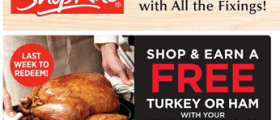 ShopRite Weekly Ad November 22 - November 28, 2020. ShopRite Fresh Turkey on Sale!