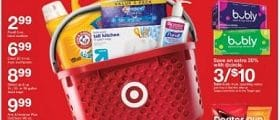 Target Weekly Circular January 17 - January 23, 2021. A Basket Of Low Prices!