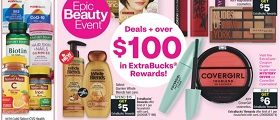 CVS Weekly Specials February 14 - February 20, 2021. Epic Beauty Event!