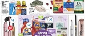 CVS Weekly Circular March 14 - March 20, 2021. Spring Cash Card Event!