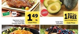 Safeway Weekly Circular March 10 - March 16, 2021. Large Hass Avocados