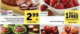 Safeway Weekly Ad March 17 - March 23, 2021. Sweet Strawberries