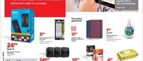 Staples Weekly Circular May 30 - June 5, 2021. Impress Your Guests!